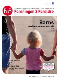 Foreningen 2 Foreldre medlemsblad nr 1-2018