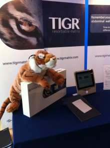 TIGR® Matrix at Swedish National Surgery Congress 2014
