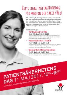 Program Patientsäkerhetens dag