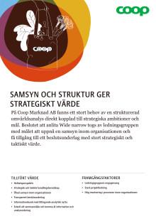 Kundcase Coop: Samsyn och struktur ger strategiskt värde
