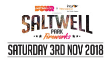Saltwell Park Fireworks – Saturday 3 November