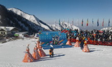 Brons till Louise Jansson i slalom i Vinteruniversiaden - studentidrottens motsvarighet till olympiska spel