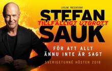 Tillfälligt Utbrott - ny scenföreställning med Stefan Sauk!
