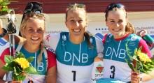 Fanny og Emil vant NM-sprinten