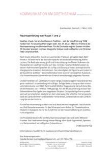 """Goetheanum-Bühne: Medienmappe """"Faust 1 und 2"""" (PDF)"""