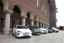 Störst andel fossiloberoende nya bilar i små kommuner