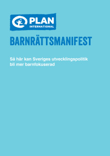 Plan International Sveriges barnrättsmanifest