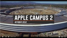 Apple's new campus nears completion