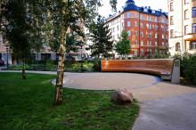 Ett monument som sätter sig, Monica Zetterlunds park