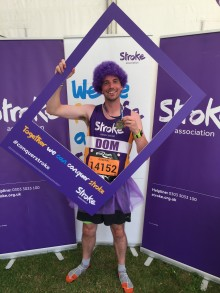 ​Nottingham runner embarks on 2,000 mile year-long mission for the Stroke Association