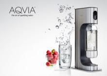 Bedst i Test-luksusbobler med  AQVIA® danskvandsmaskinen