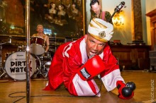 """Is King Salami and the Cumberland 3 the """"UK's Best Part Time Band""""?  Their new single """"Tiger in my Tank"""" leaves no doubt!"""