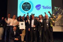 Telia har Norges beste mobilnett for andre år på rad