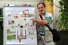 Frank Schmiade zeigt sein Bärenherz: Benefizgrillen in der Villa Leipzig