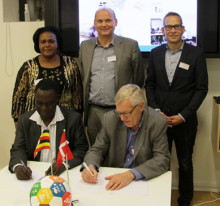 ADRA has signed an agreement with Kyaterekera Agricultural School in Uganda