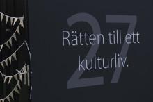 RÄTT TILL KULTURLIV I FOKUS  PÅ BLACKEBERGS GYMNASIUM