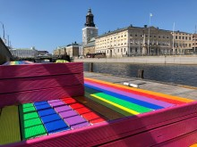 Brunnsparken goes Pride!