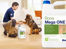 Bona Lanserar Bona Mega ONE - en ny golvlack, utvecklad med hantverkaren i fokus
