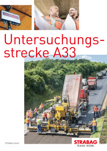 STRABAG: Untersuchungsstrecke A33