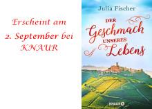 Edle Pralinen, ein Familiengeheimnis und eine zauberhafte Liebe - Julia Fischer ist mit neuem Roman zurück!
