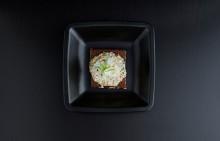 Korshags recepttips: Rågbröd med laxsallad på kallrökt lax, fänkål & dragon