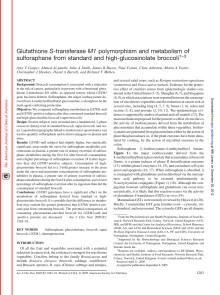 Gasper et al 2005 - Glutathione S-transferase...