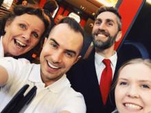 MTR Express är Sveriges högst rankade tågbolag enligt Svenskt Kvalitetsindex
