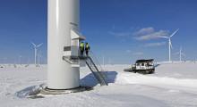 Bandvagnen en viktig resurs för vindkraften