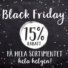 Snart Black Friday!