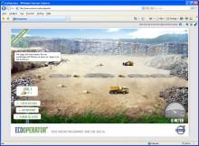 Testa Volvo Eco Operator på ny webbplats