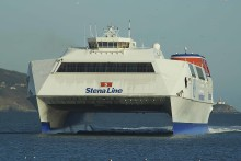 Stena Explorer Makes Final Journey on Irish Sea