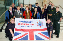 Council flies flag for Emergency Services Day
