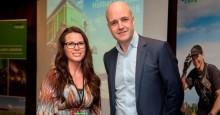 Tre snabba med Fredrik Reinfeldt