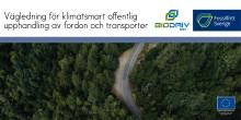 Nya grepp behövs inom den offentliga upphandlingen av transporter