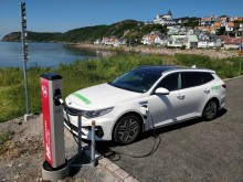 Höganäs storsatsar på elbilsladdning