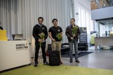 De vann Sweden Robot Hack i Eskilstuna