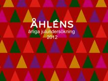 Åhléns Julundersökning 2012-1