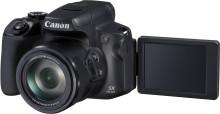 Canon PowerShot SX70 HS har fastmontert objektiv med kraftig 65x zoom i et portabelt kamerahus i speilrefleksstil