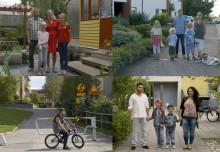 Tuffa tider för familjer i ekonomiskt tv-experiment