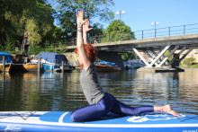 Utomhusyoga och SUP-yoga i hela sommar-sverige!