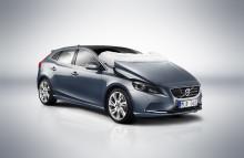 Rekordhöga poäng för nya Volvo V40 i Euro NCAP
