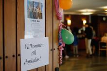 17 personer döptes  på Umeås första dopdag