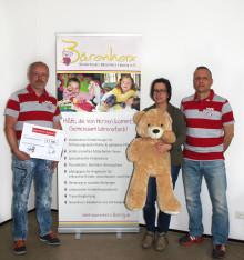Lipsia United engagiert sich für Bärenherz