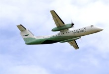 Widerøe med Haugesunds-flyhet