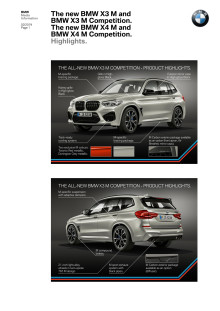 BMW X3 M og BMW X4 M - Highlights