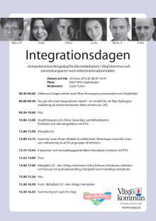 Integrationsdagen i Växjö 30 mars 2016