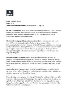 Fakta kommentatorer Danmark