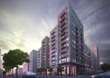 Veidekke bygger 205 lägenheter i Hagastaden