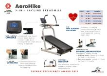 JK Fitness Wins 2019 Taiwan Excellence Award for AeroHike Incline Treadmill