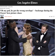 How to avoid your event going awry like the Oscars and Miss Universe